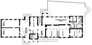 Stadtbibliothek – Grundriss Erdgeschoss