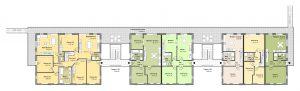 Neubau – Grundriss Obergeschoss